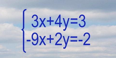 Sistema de Ecuaciones (Cramer)