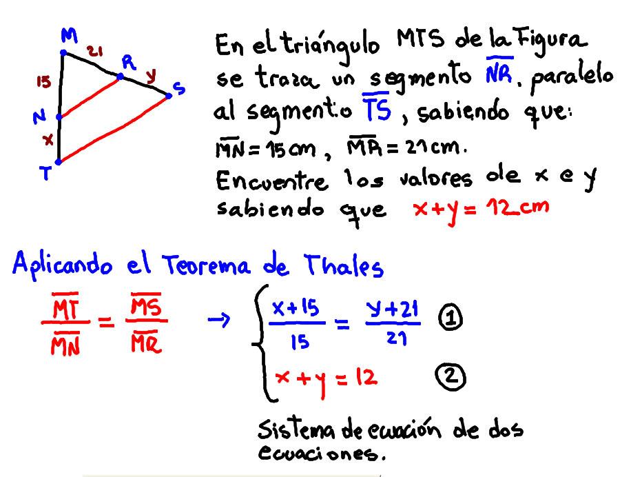 teorema thales