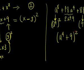 Ecuacion Cuadratica y sus factorizaciones