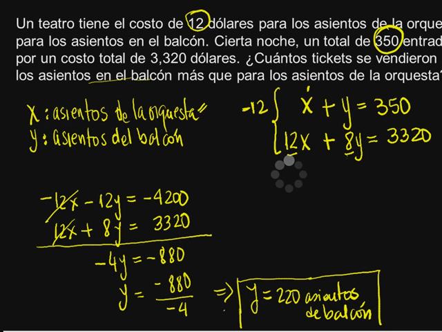 sistema de ecuacion